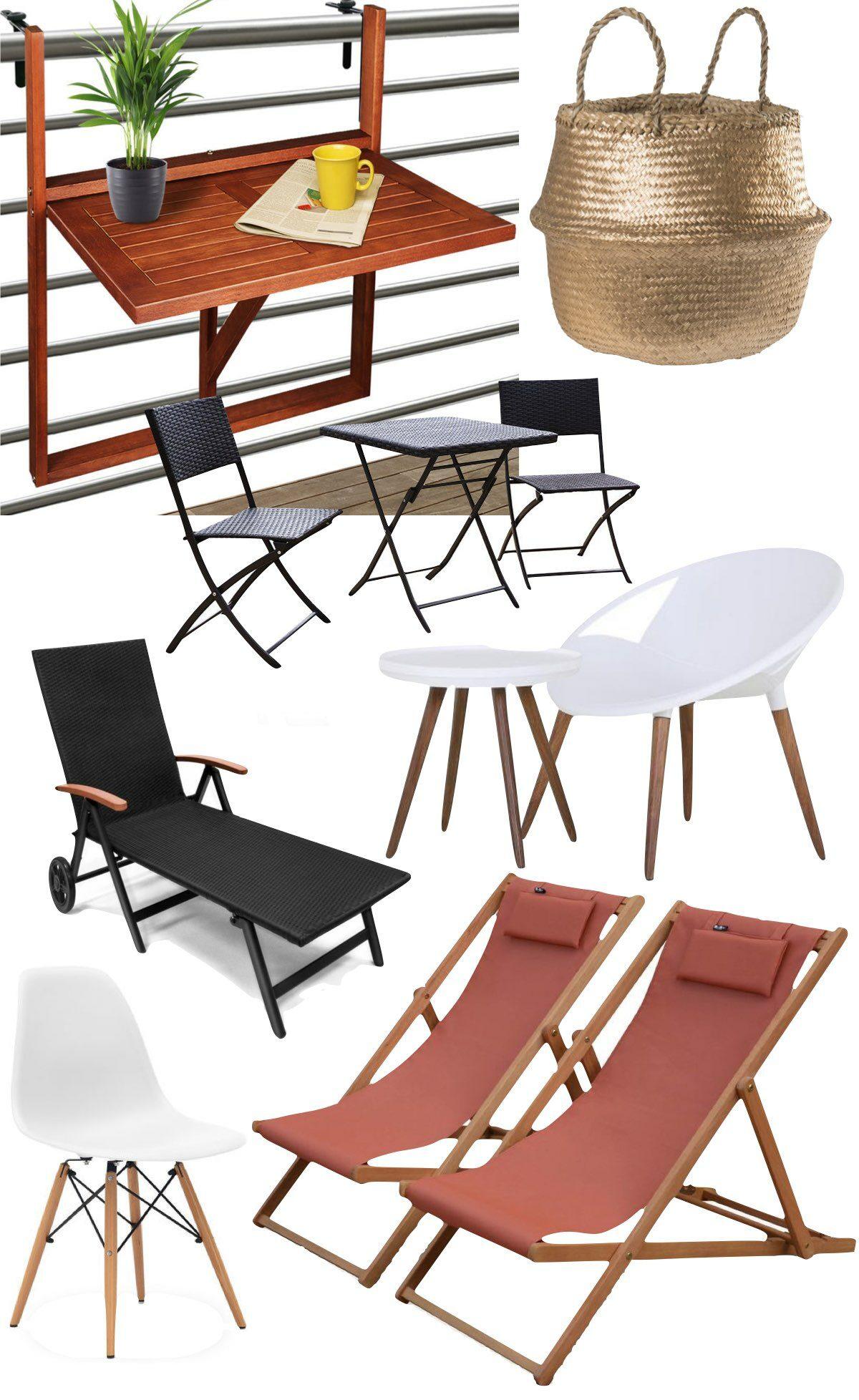 soldes 2020 manomano meuble balcon étroit transat pliable