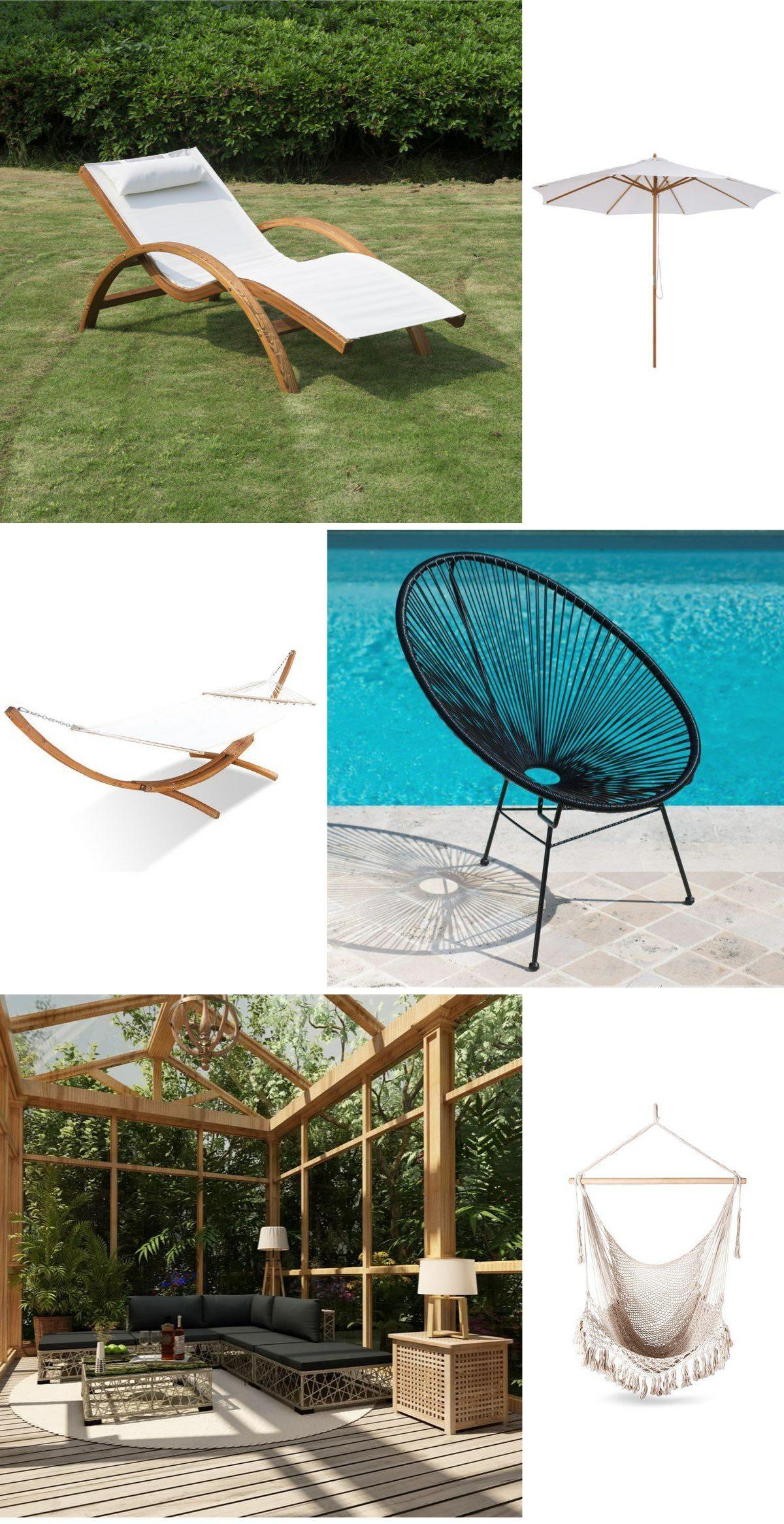 soldes 2020 manomano meuble jardin piscine transat bon plan