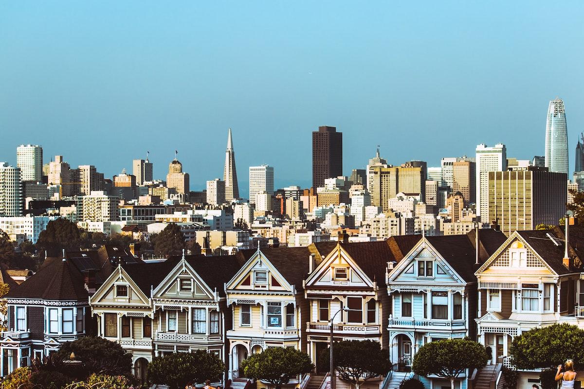 architecture city guide San Francisco monument emblématique maisons victoriennes