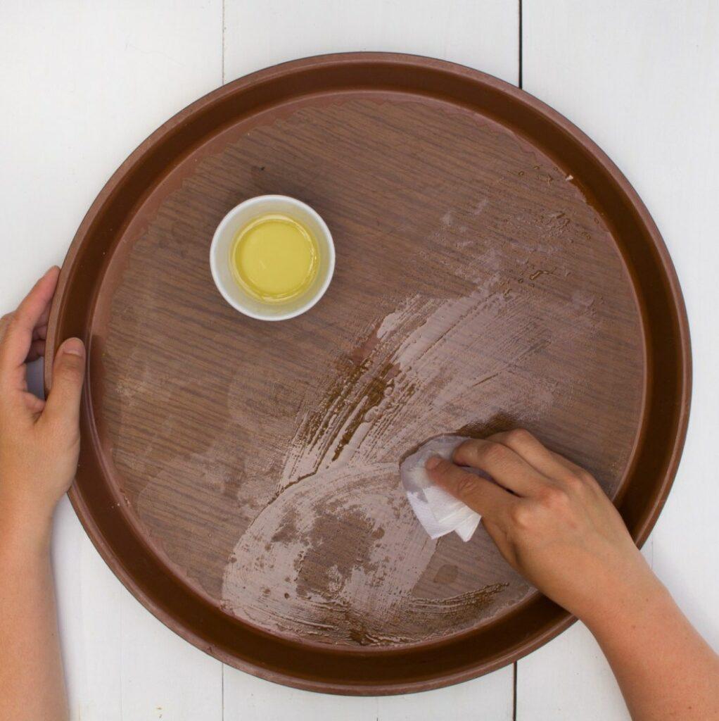 bricolage table décoration intérieure huile végétale blog déco DIY