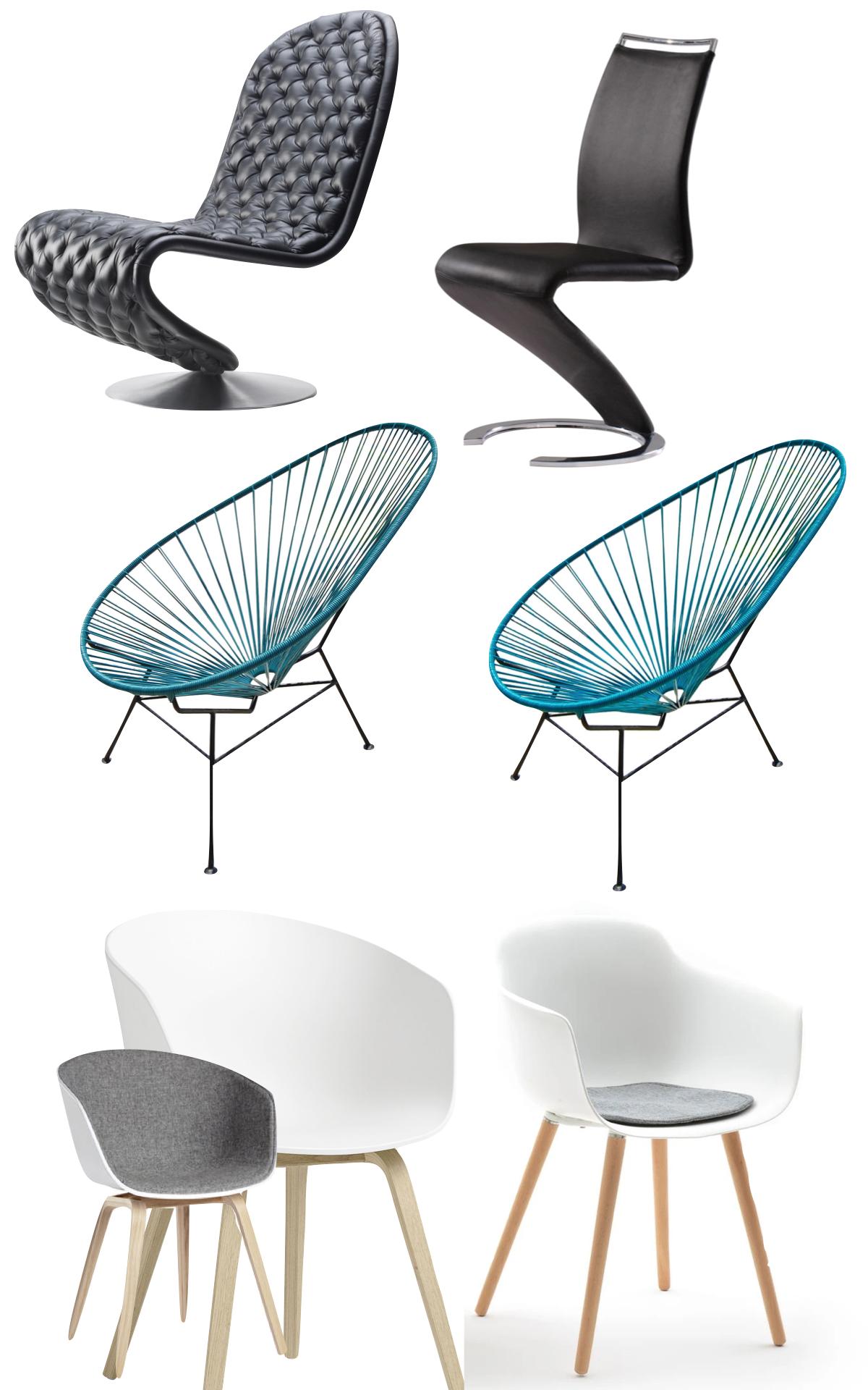 chaise original pas chère cuir scoubidou fauteuil célèbre - blog déco - clemaroundthecorner
