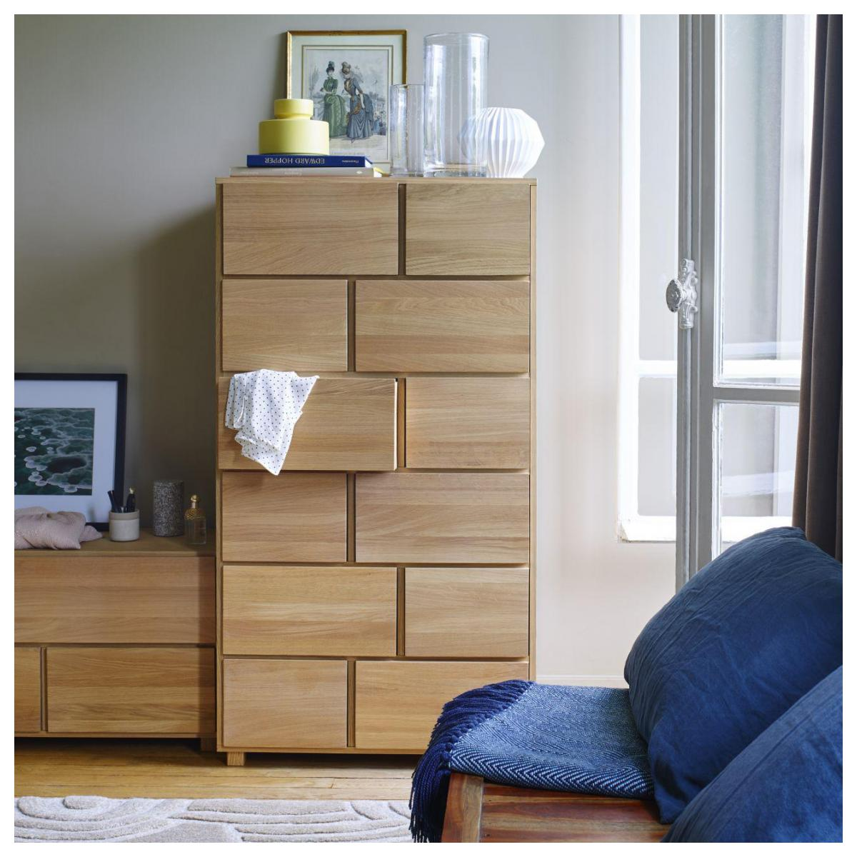 chiffonnier bois chêne massif Bethan Gray meuble chambre design - blog déco - clem around the corner