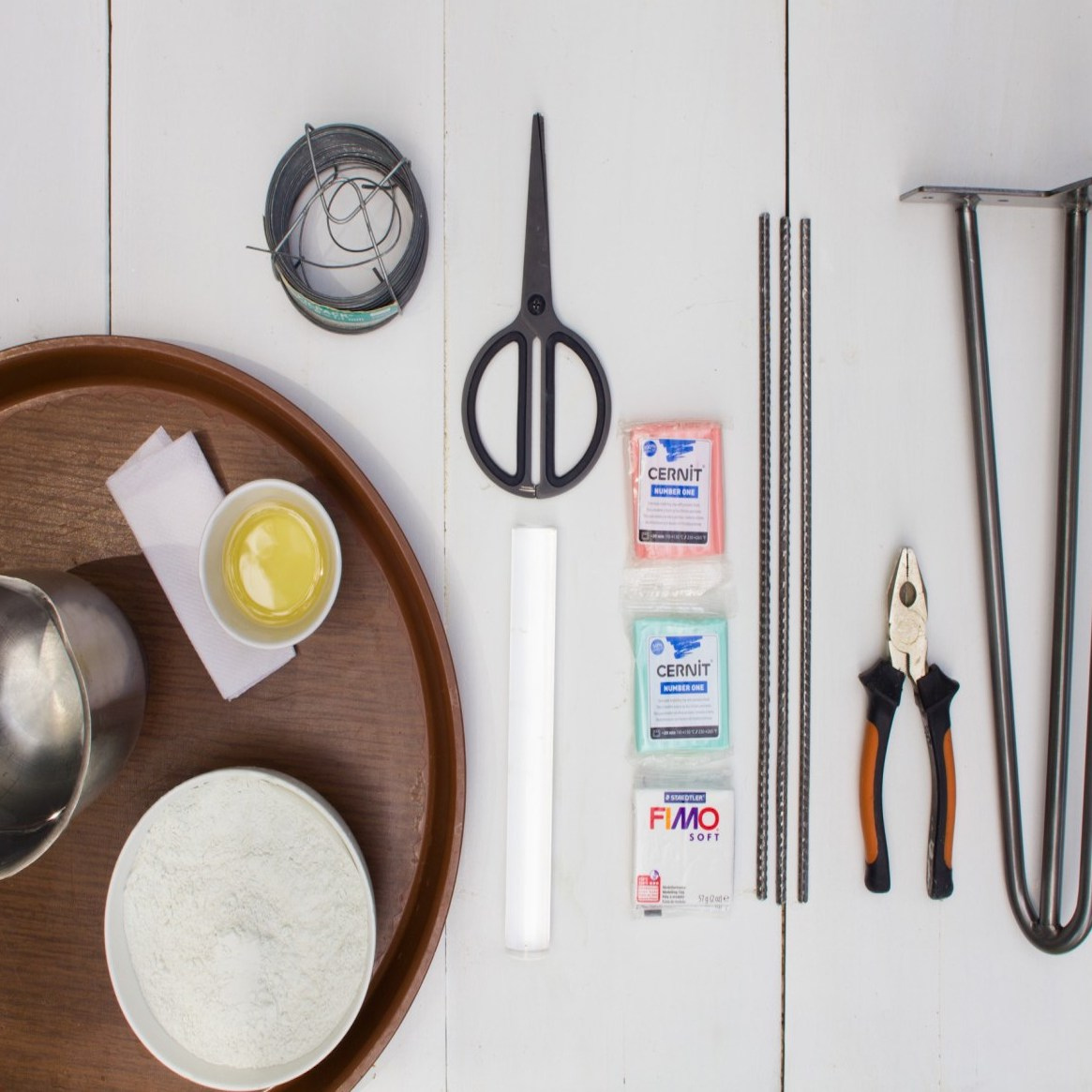 diy tutoriel fabrication table ustensiles bricolage