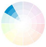 roue des couleurs newton assortiment chromatique