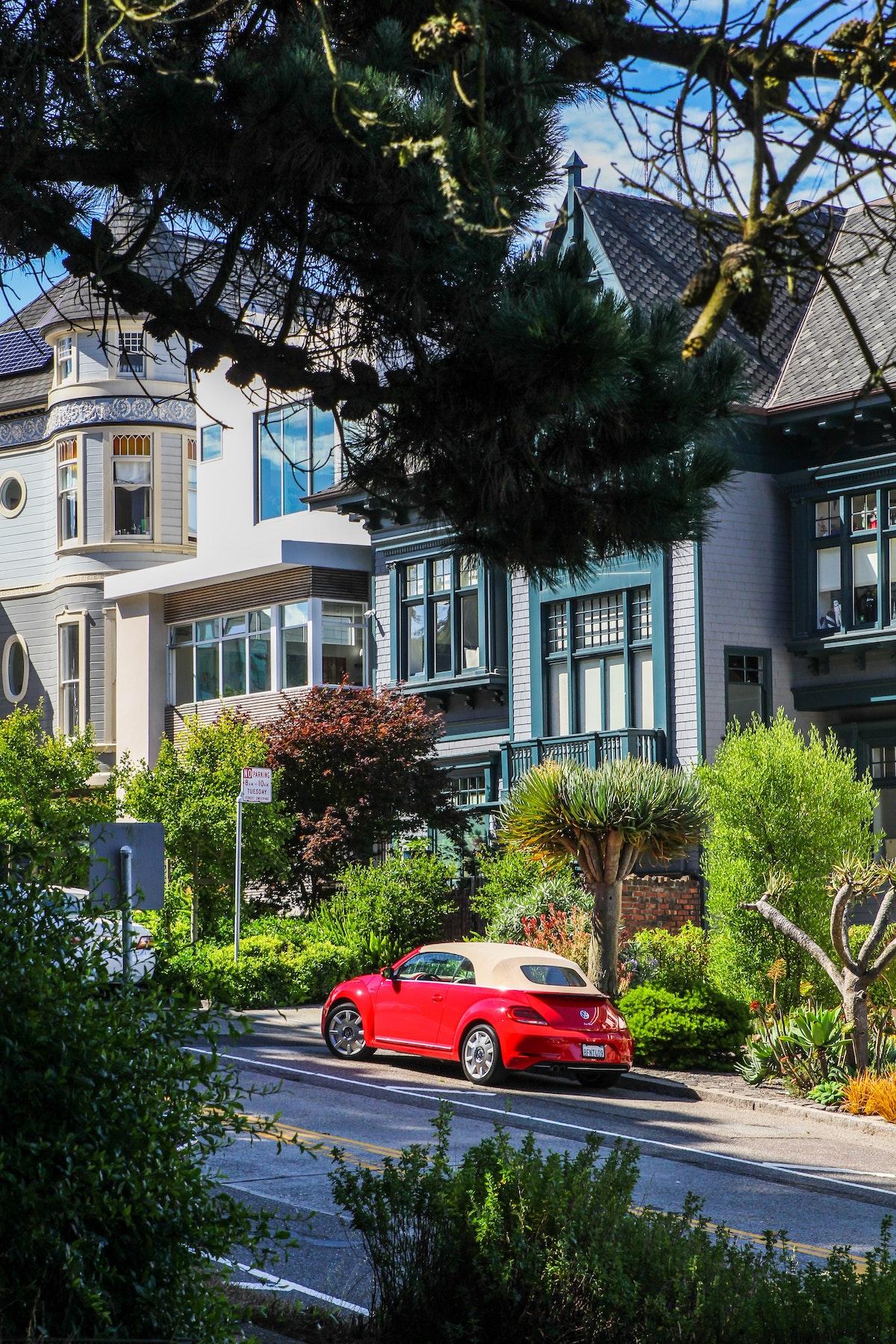 San Francisco architecture maison victorienne buena vista park - blog clem around the corner