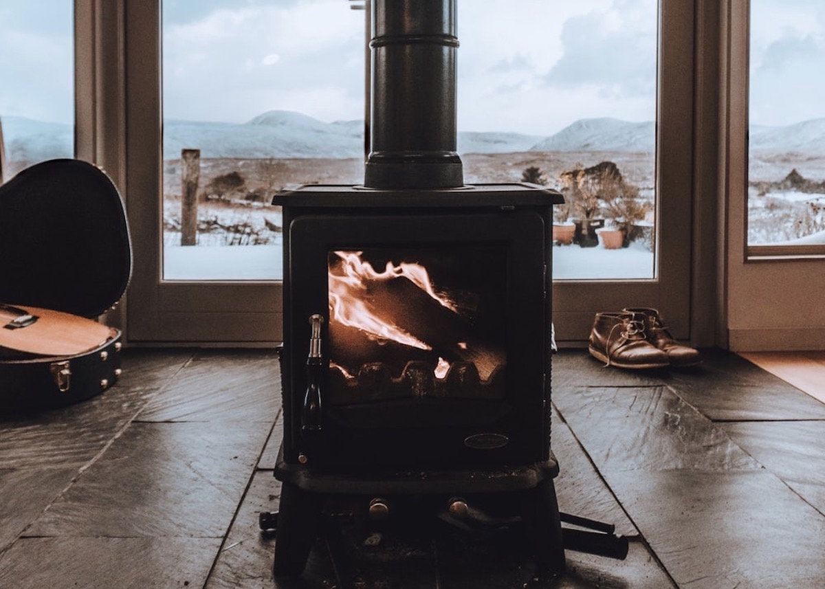 séjour cocooning hiver chauffage d appoint principal - blog déco - clemaroundthecorner