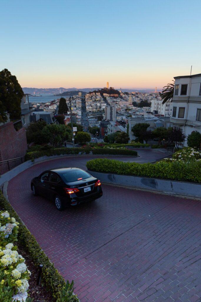 vue San Francisco architecture de nuit - blog déco - clem around the corner