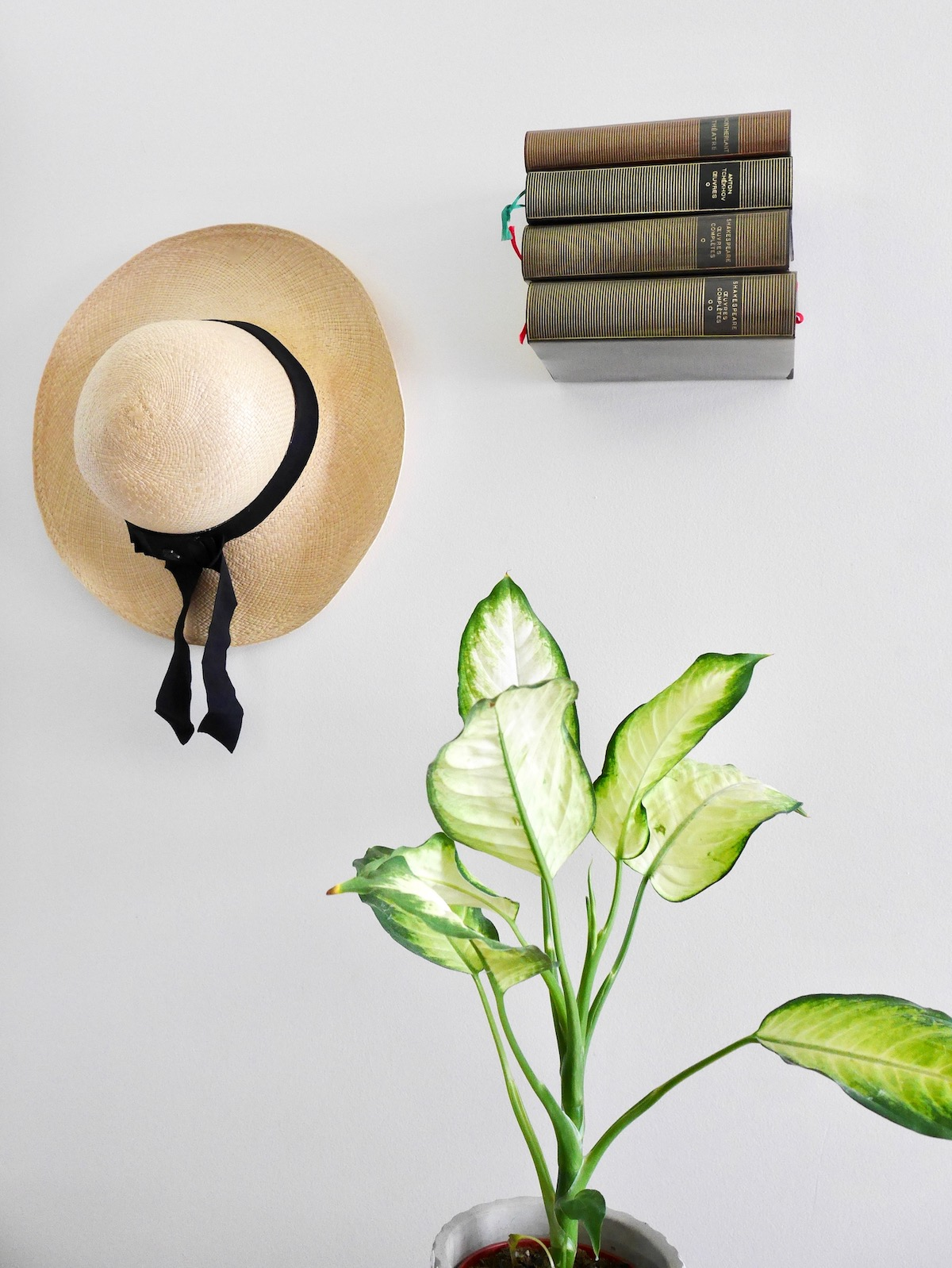 étagère invisible livre suspendu diy magique