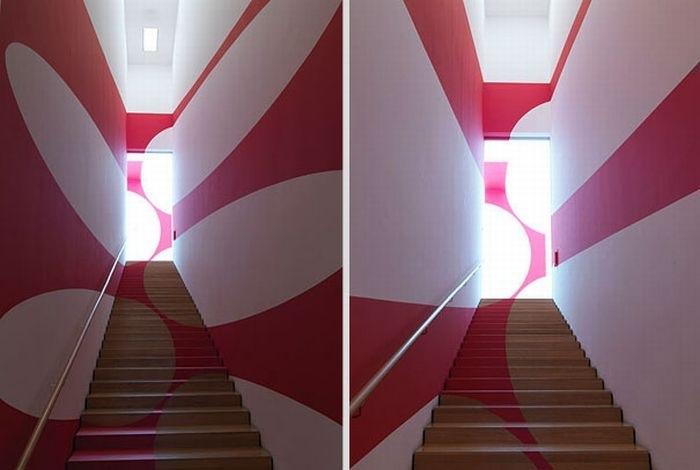 décoration murale peinture 3d trompe oeil effet relief - blog déco
