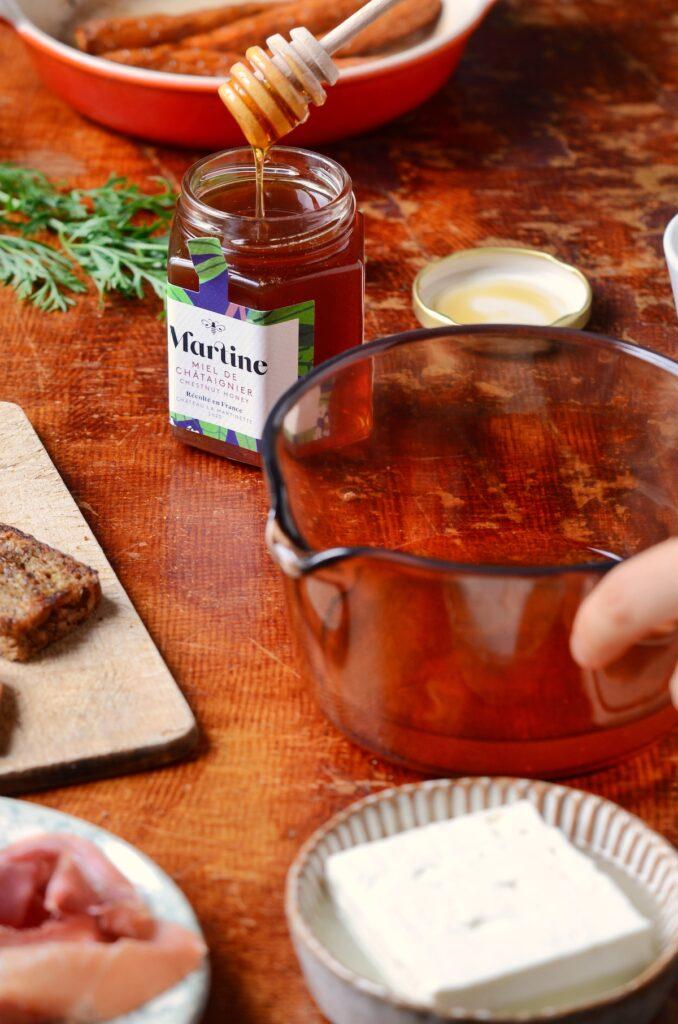 idée recette Antonin Bonnet miel Martine lavande vegé