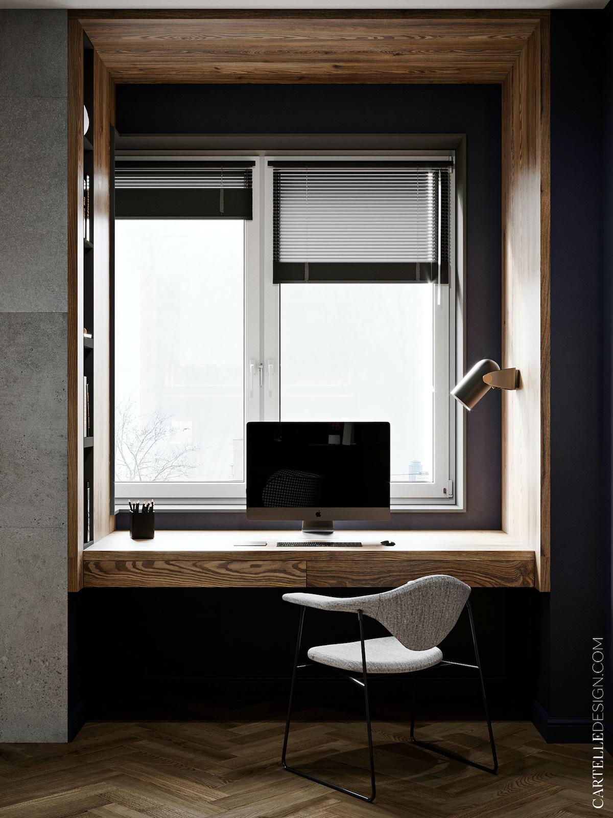 installer espace télétravail fenêtre - blog déco - clem around the corner