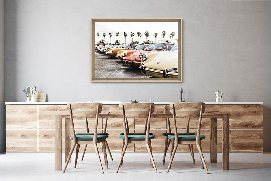 photographies d'art voiture automobile vintage retro affiche murale