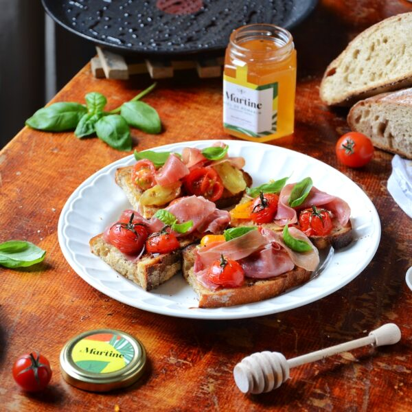 recette Tartine Antonin Bonnet Miel Martine pain miel