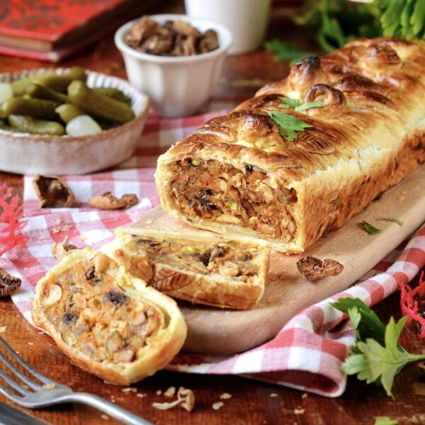 recette pâté en croute végétarien repas Noël veggie