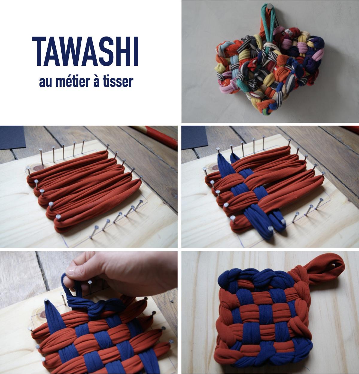 tuto tawashi métier à tisser astuce écolo vaisselle - blog déco - clemaroundthecorner