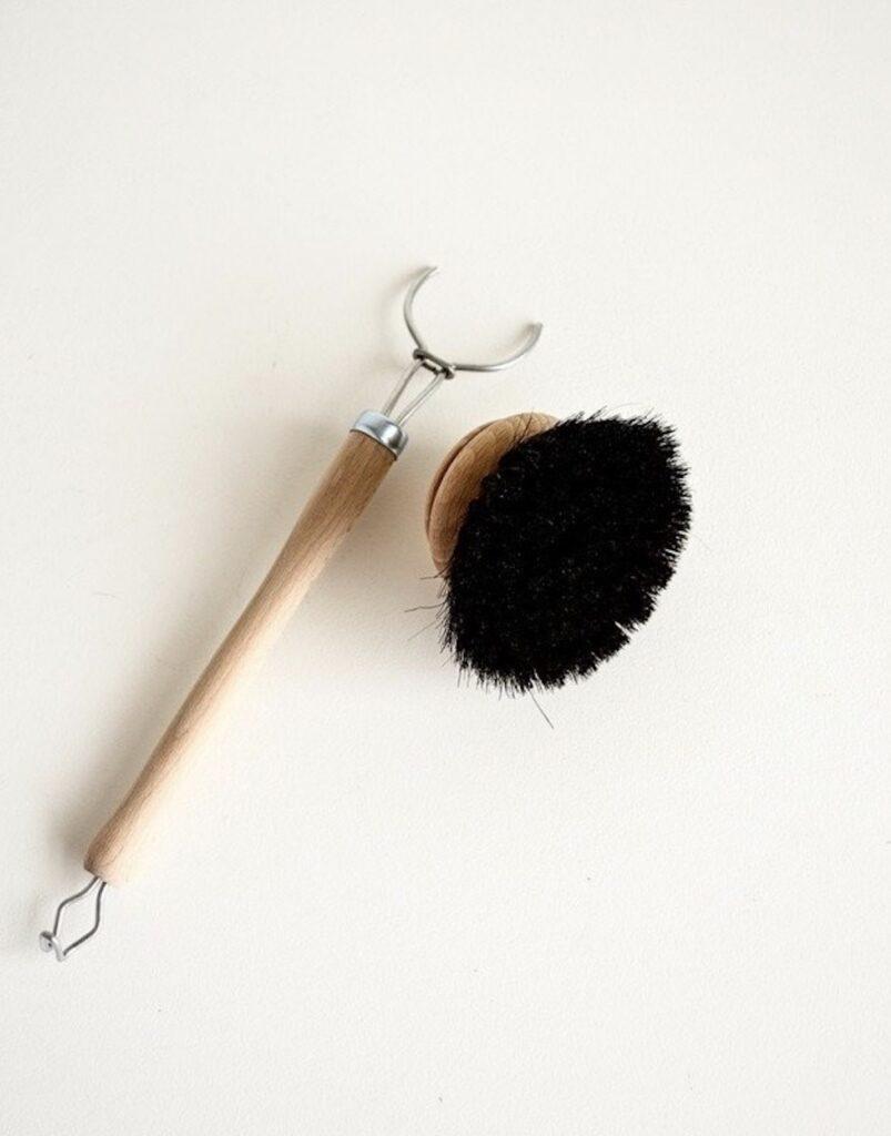 vaisselle écologique brosse rechargeable - blog déco - clematc