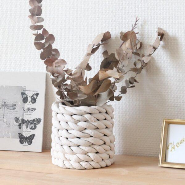 vase boîte de conserve blog création déco - clem around the corner