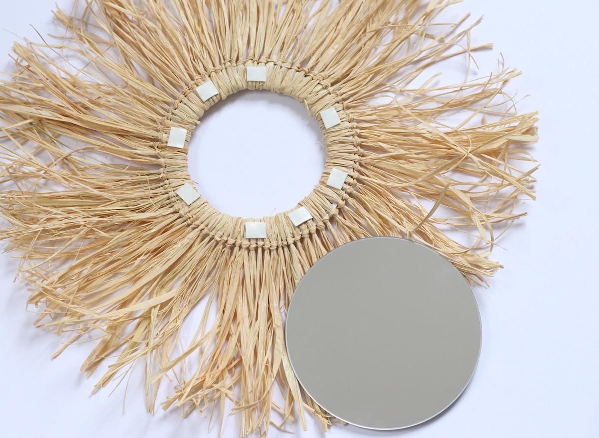 déco murale façon juju hat en fibre raphia bambou clem around the corner