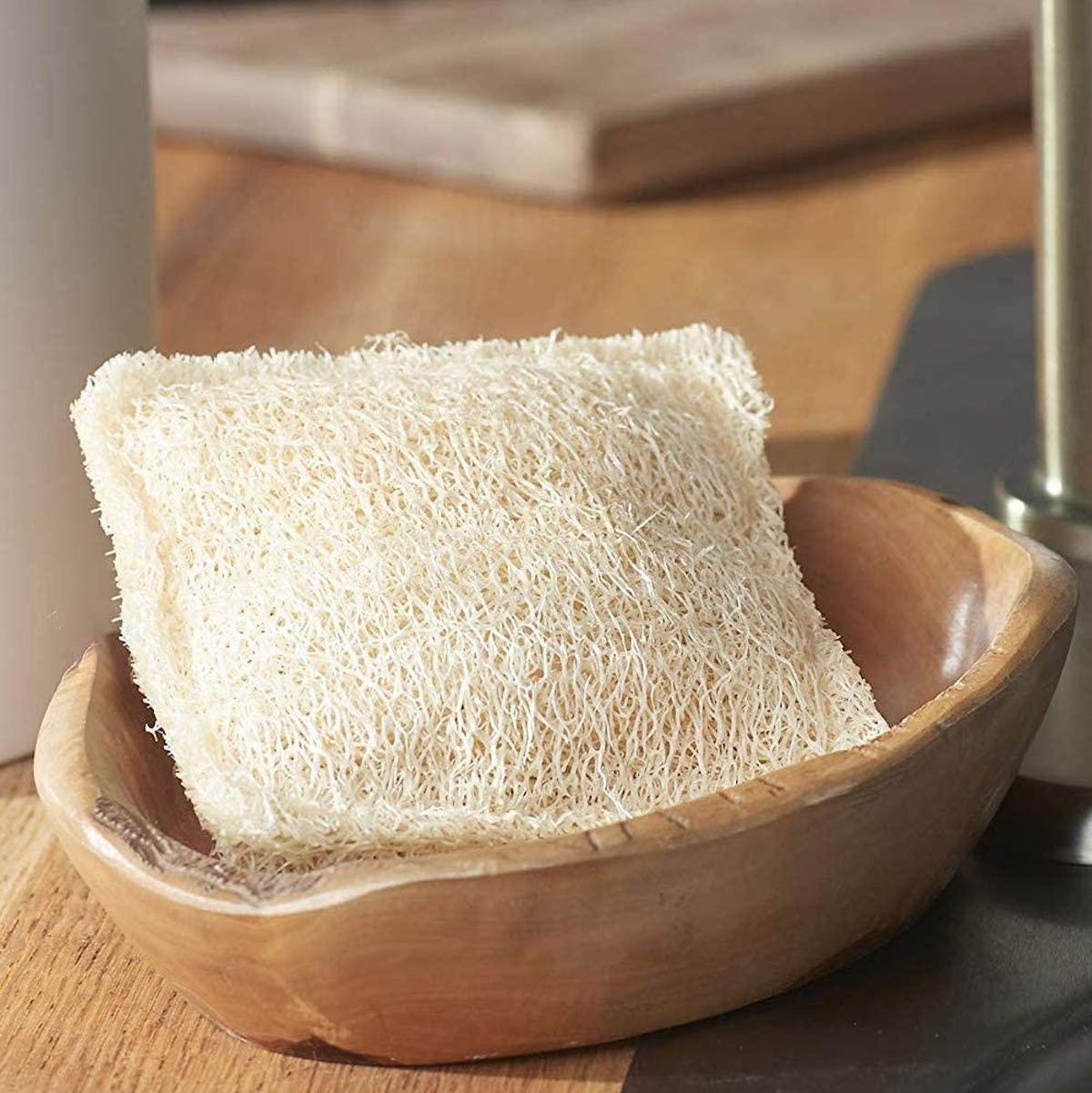 éponge luffa naturelle ménage maison fibre courge - blog déco - clematc