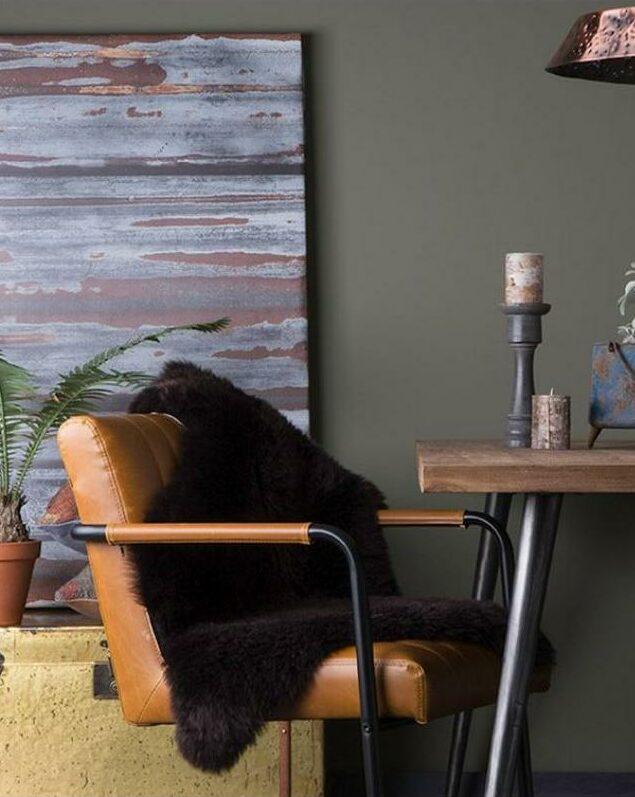 fauteuil design bureau déco masculine black friday 2020 cuir marron
