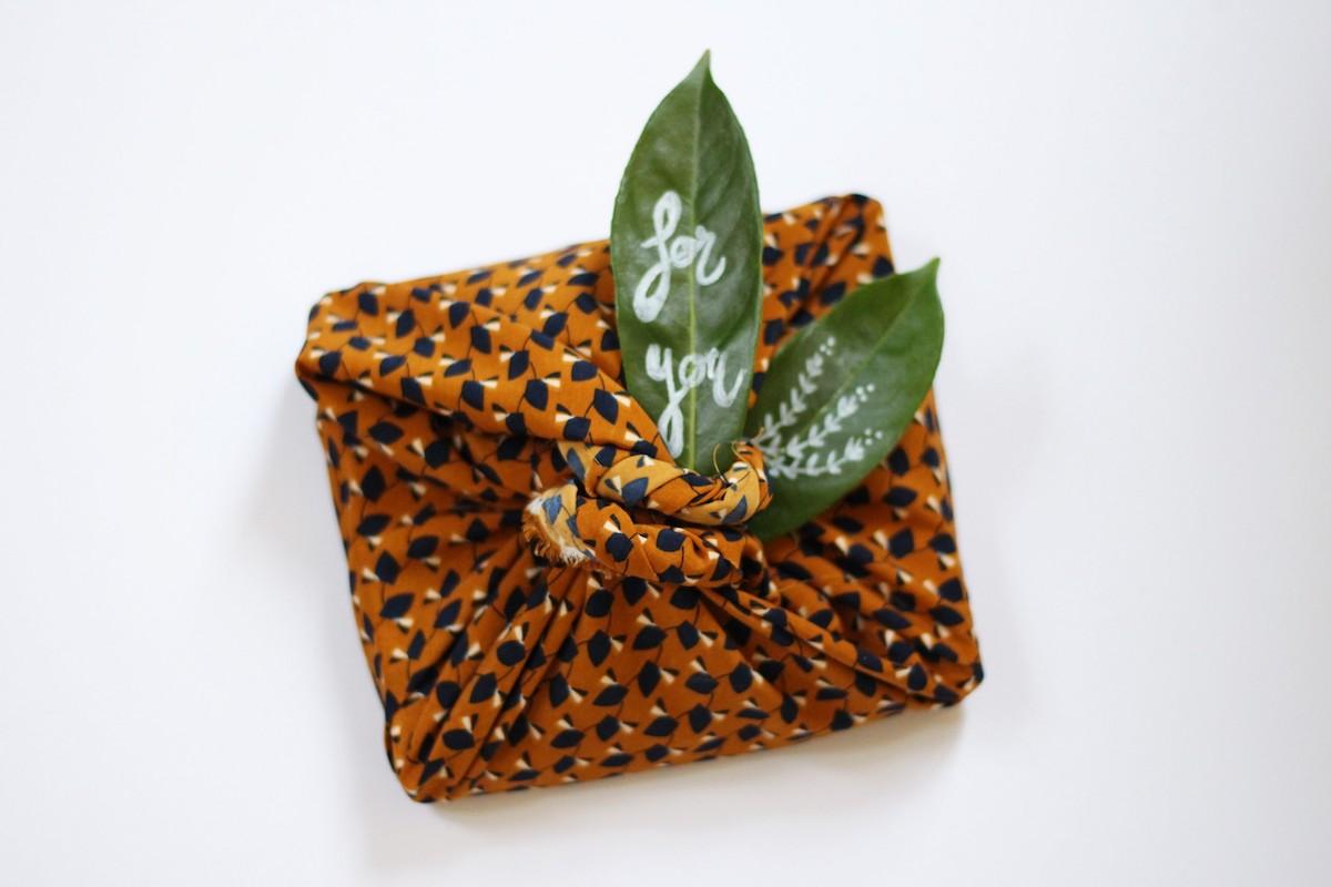 noël écologique papier cadeau éco responsable naturel recyclable