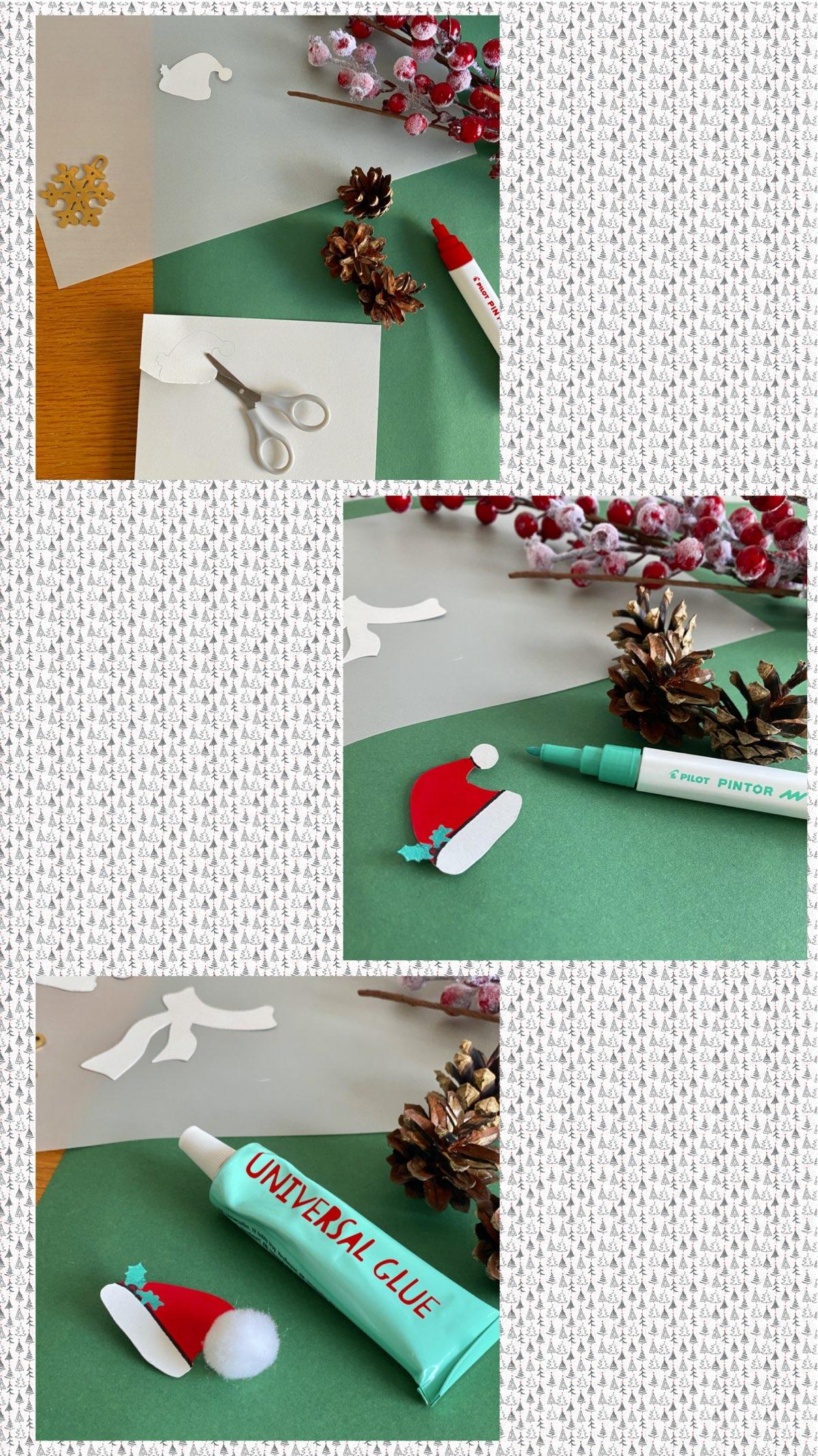 upcycling déco de noël blog création décoration clemaroundthecorner