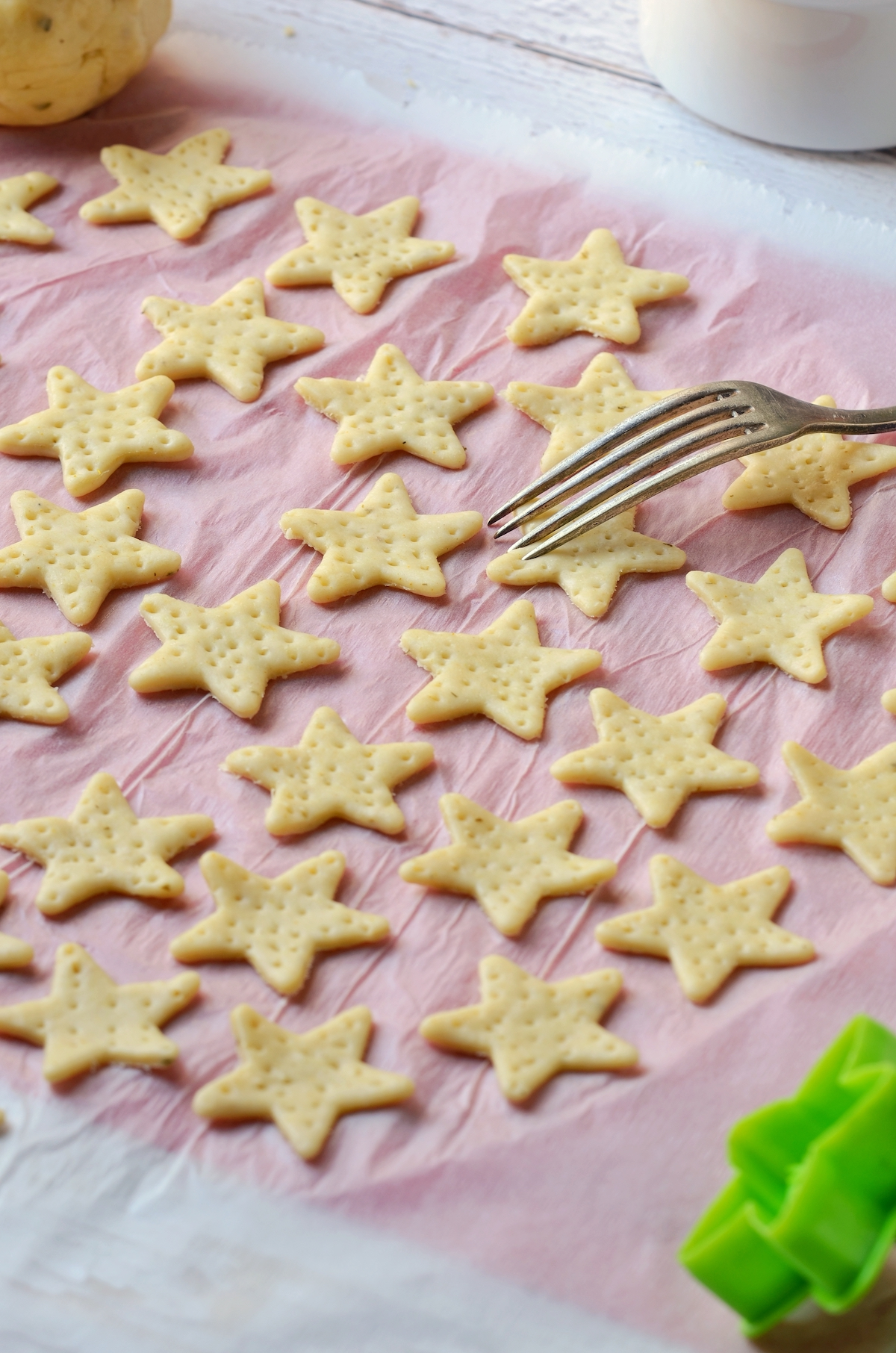 amuse bouche de noël cracker salé façon belin fait maison étoile apéro recette