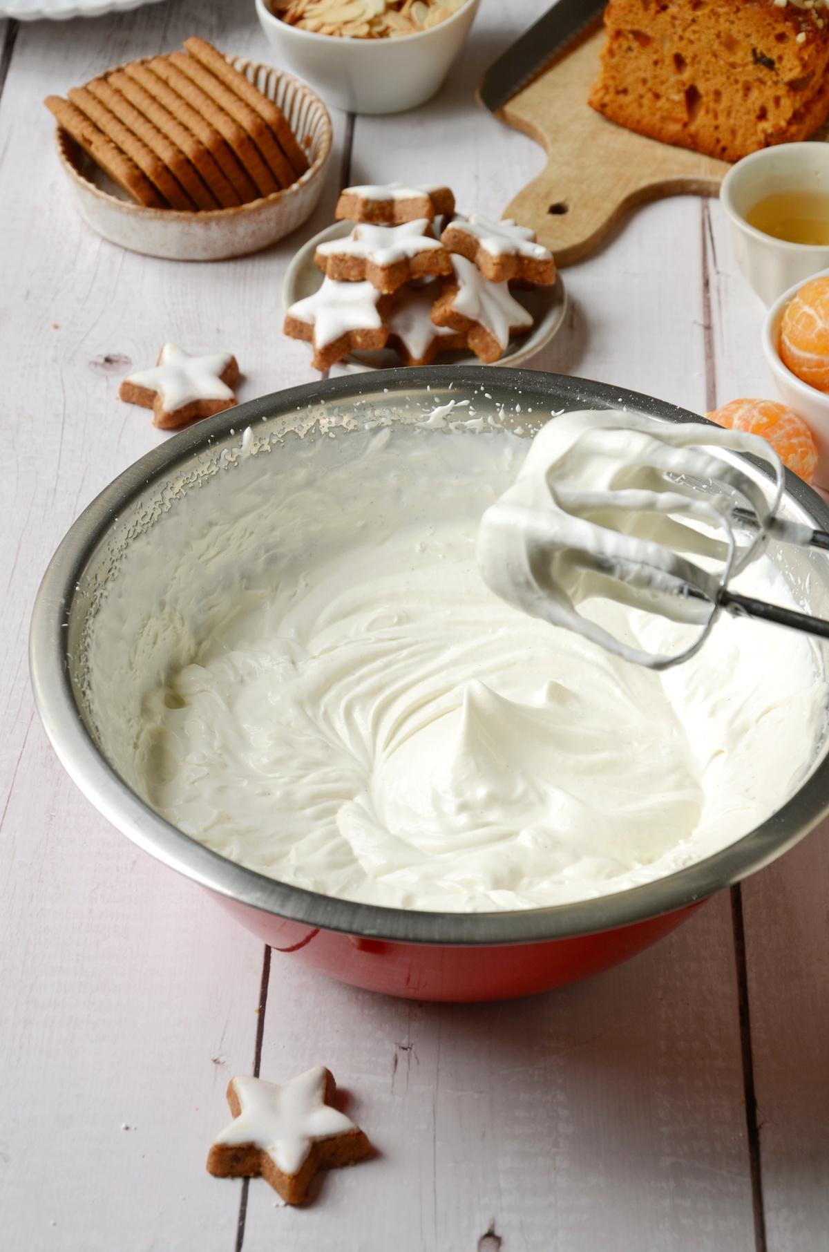 astuce glaçon monter crème fouettée chantilly fraîche