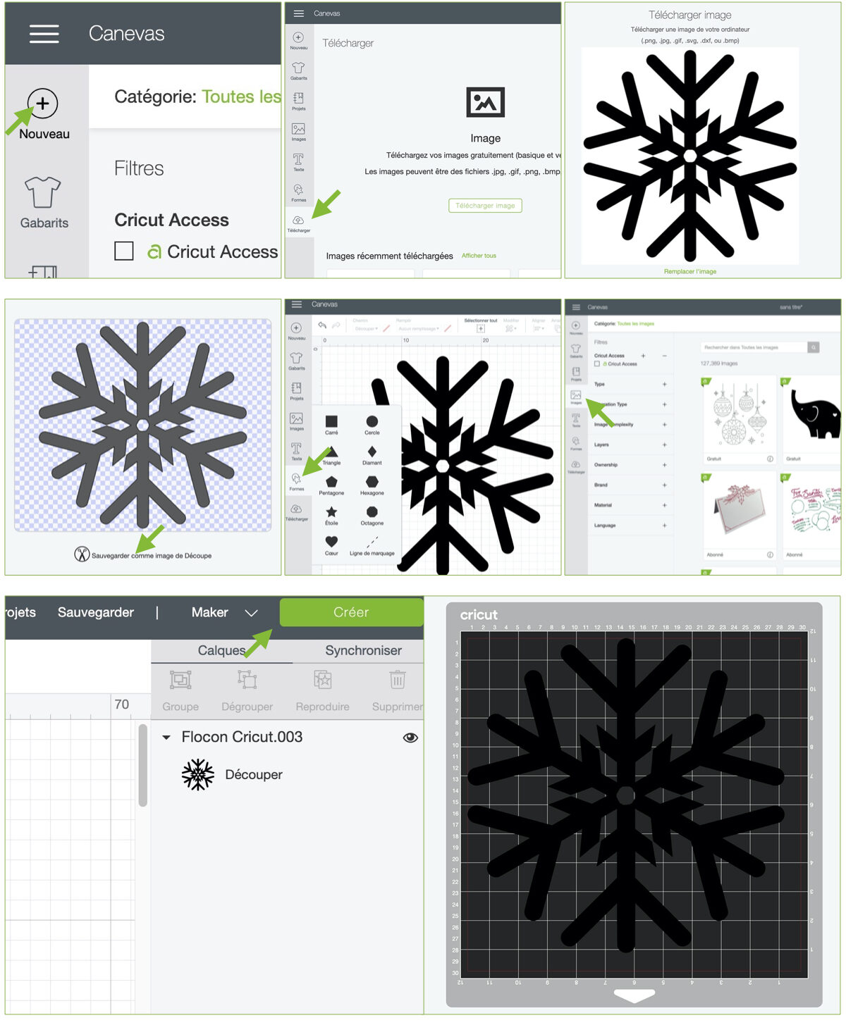 comment utiliser cricut design space créer propre produit