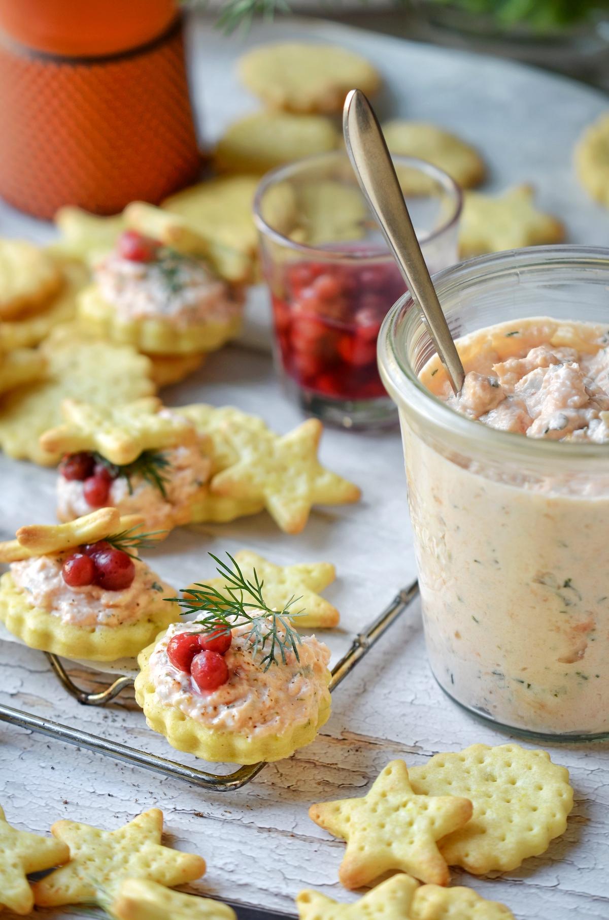 faire crème de poisson rillettes truite soit-même recette Noël
