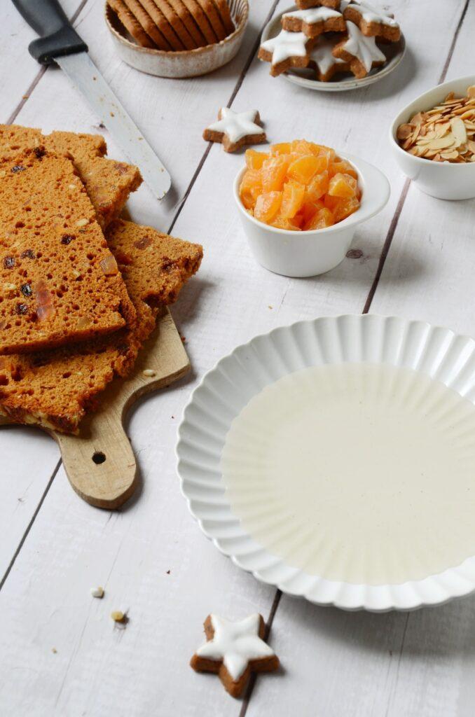 gâteau sans cuisson recette fait-maison pain épices rhum