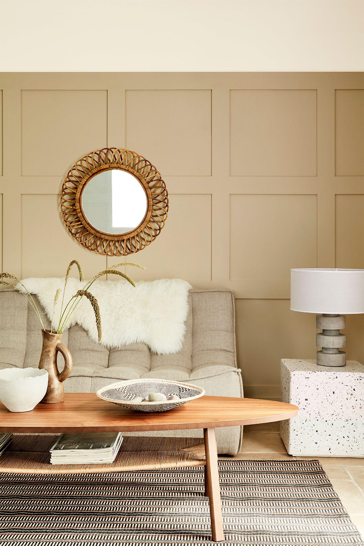 salon nuance de beige little greene slow living - blog déco - clem around the corner