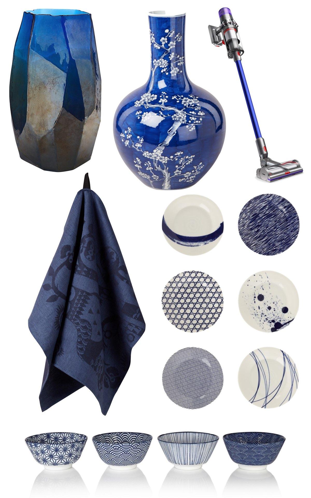 accessoire maison équipement bleu roi électroménager