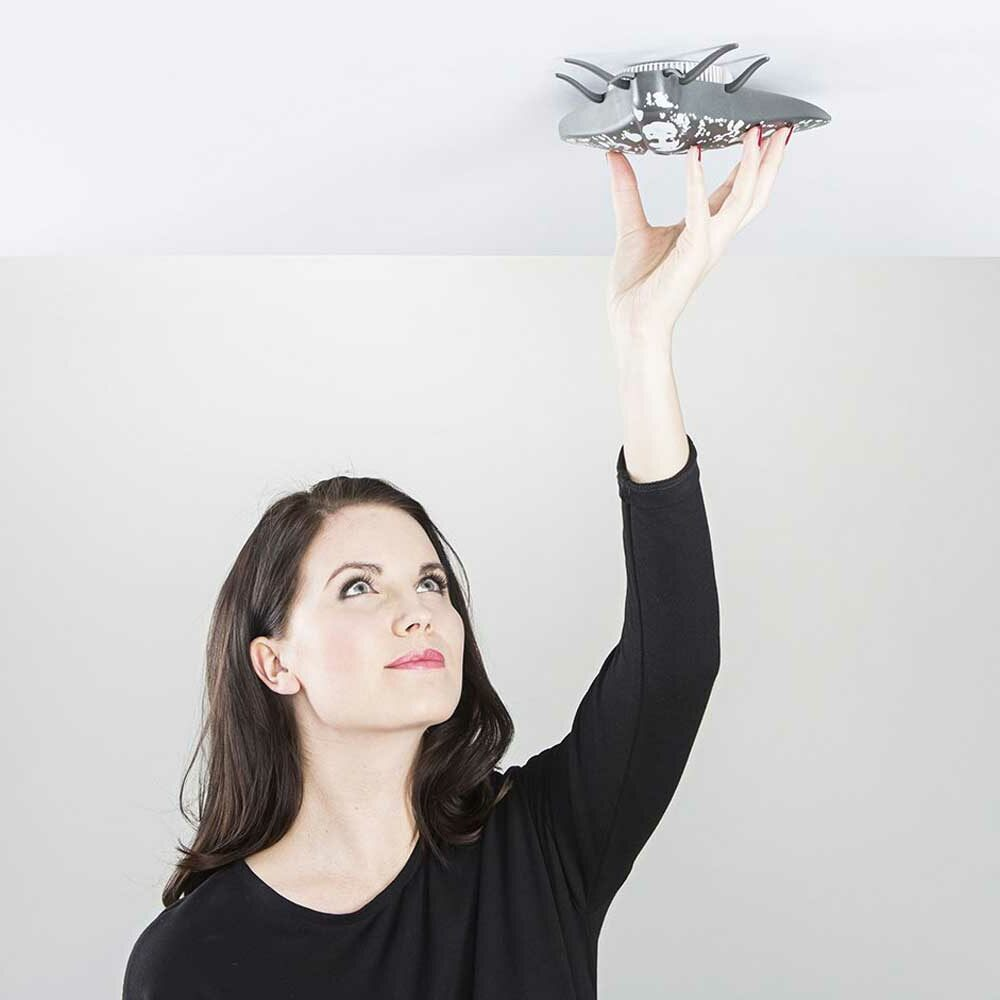 alarme originale forme papillon co2 carbone