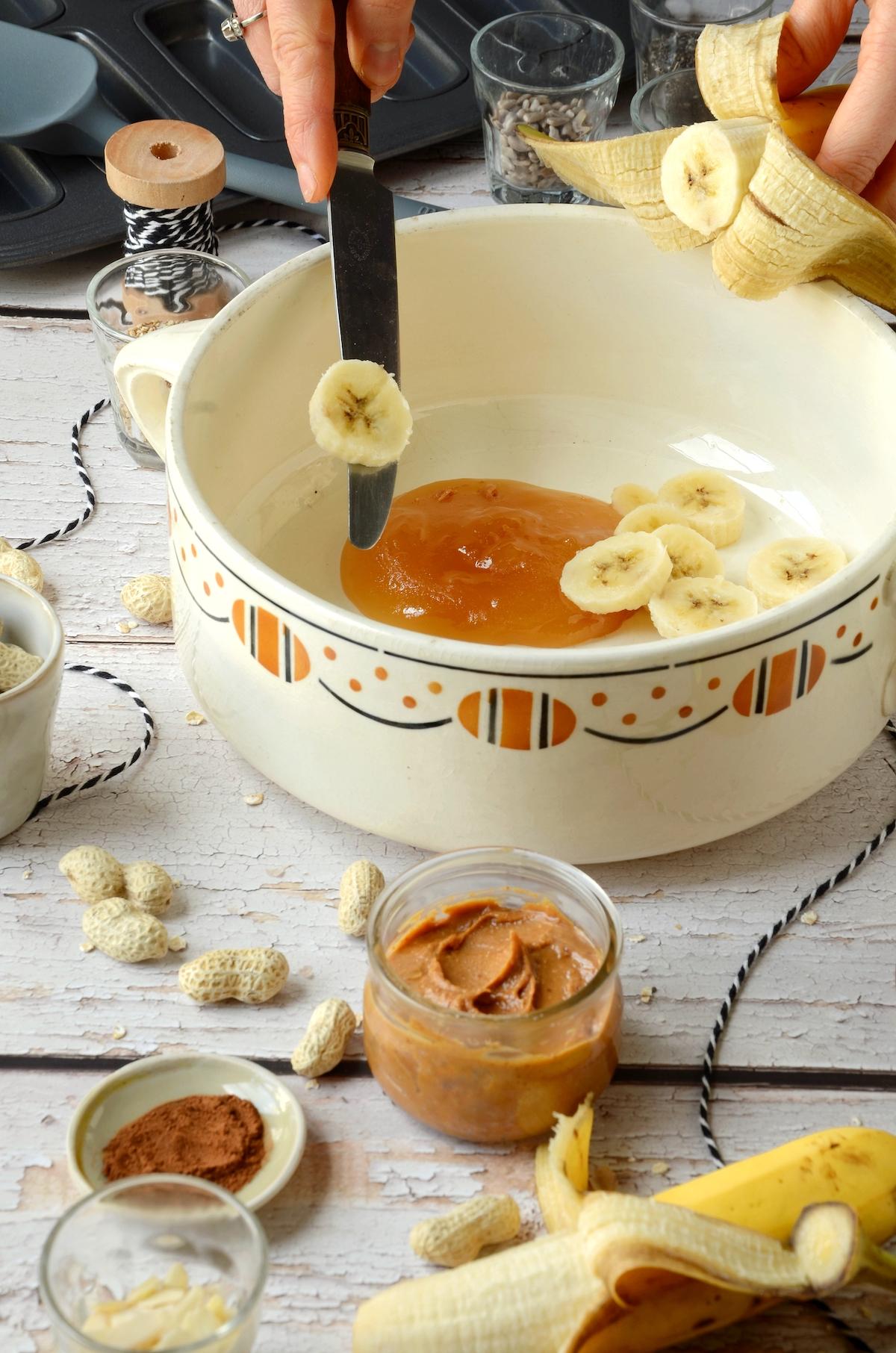 cuisine fait-maison dessert banane