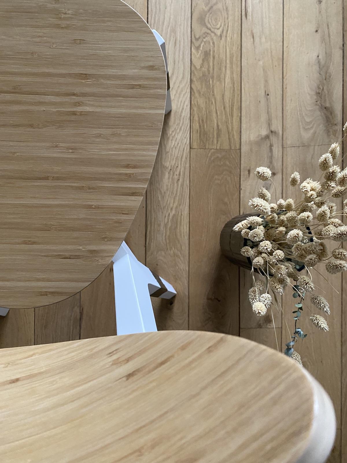décoration salle à manger slow life scandinave bois