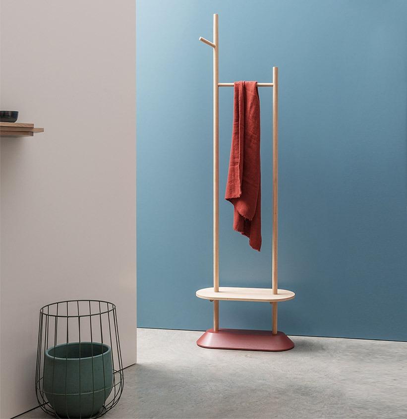 meuble malin entrée rangement ouvert design bois