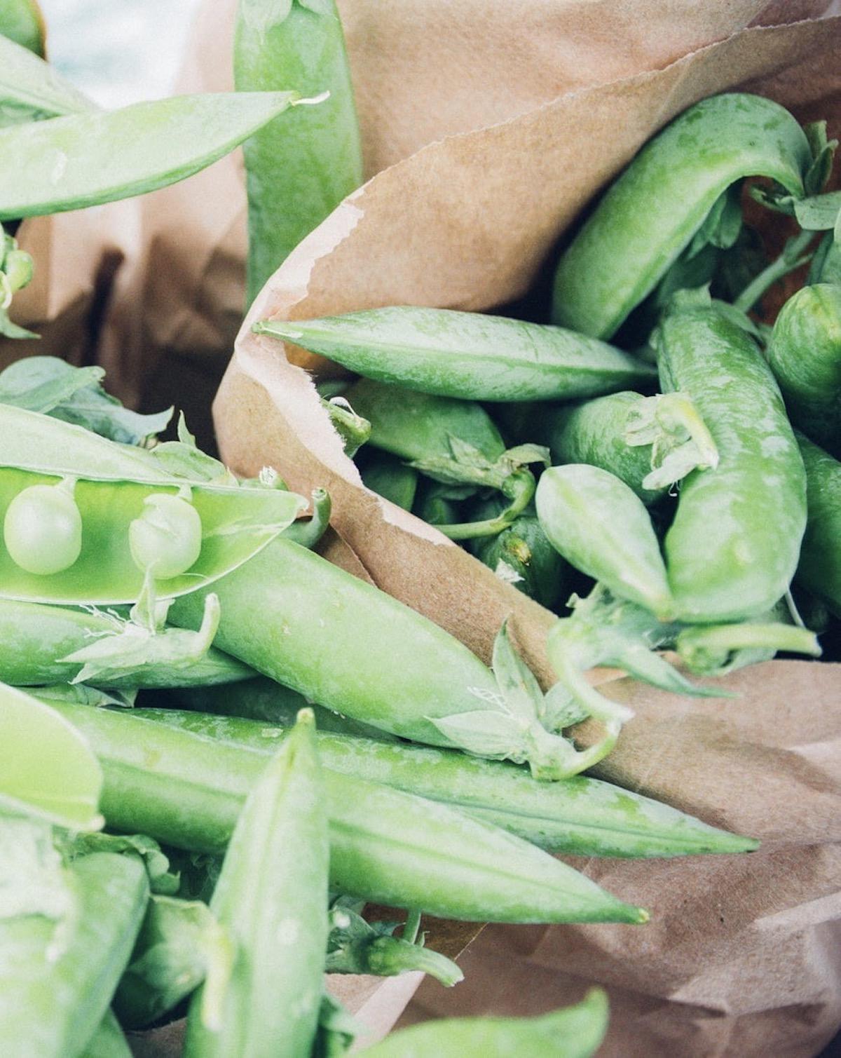 petits pois vert jardinage semis légume entretien - blog déco - clemaroundthecorner