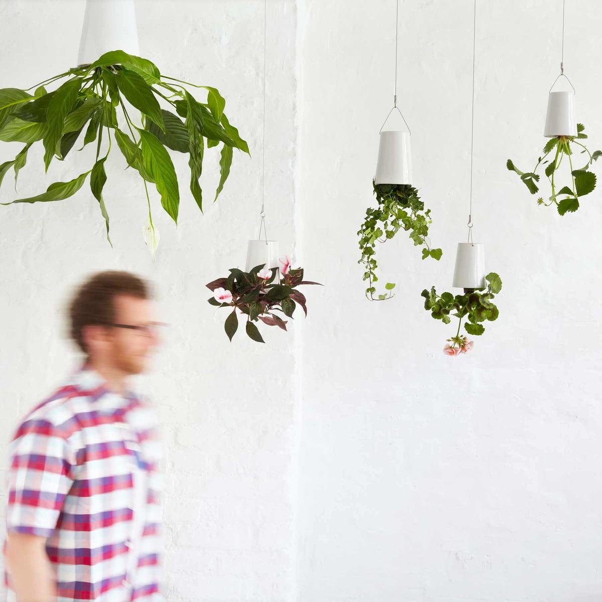 pot renversé cloison originale décoration intérieur - blog clem around the corner