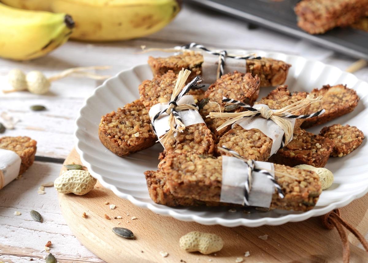 recette barres énergétiques banane avoine