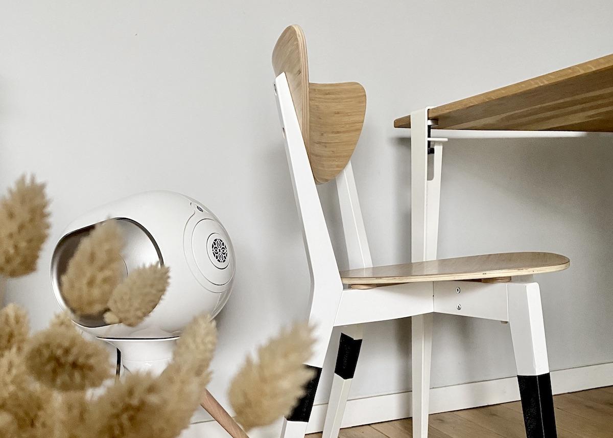 réparer un pied de chaise en bois cassé tuto