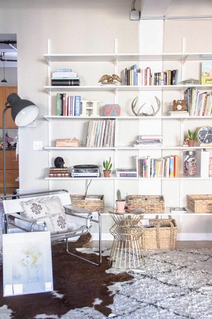 salon accumulation tapis loft bohème new york