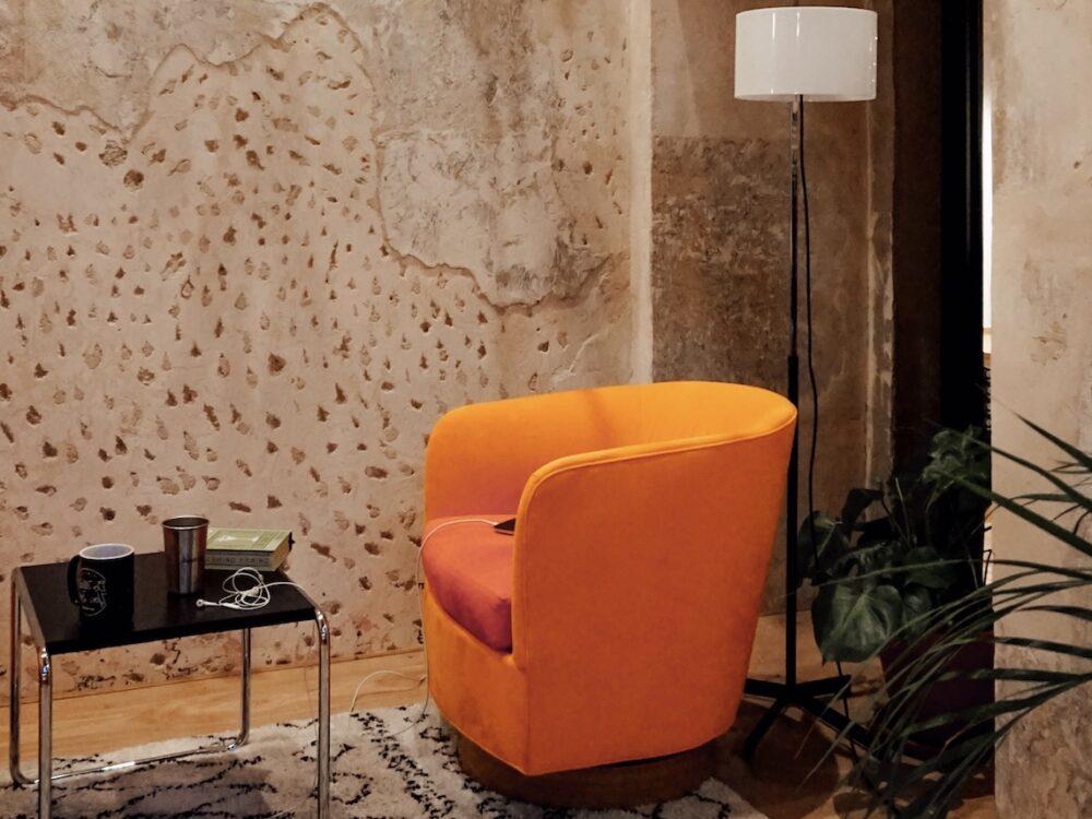 salon style industriel trash wall diy blog déco