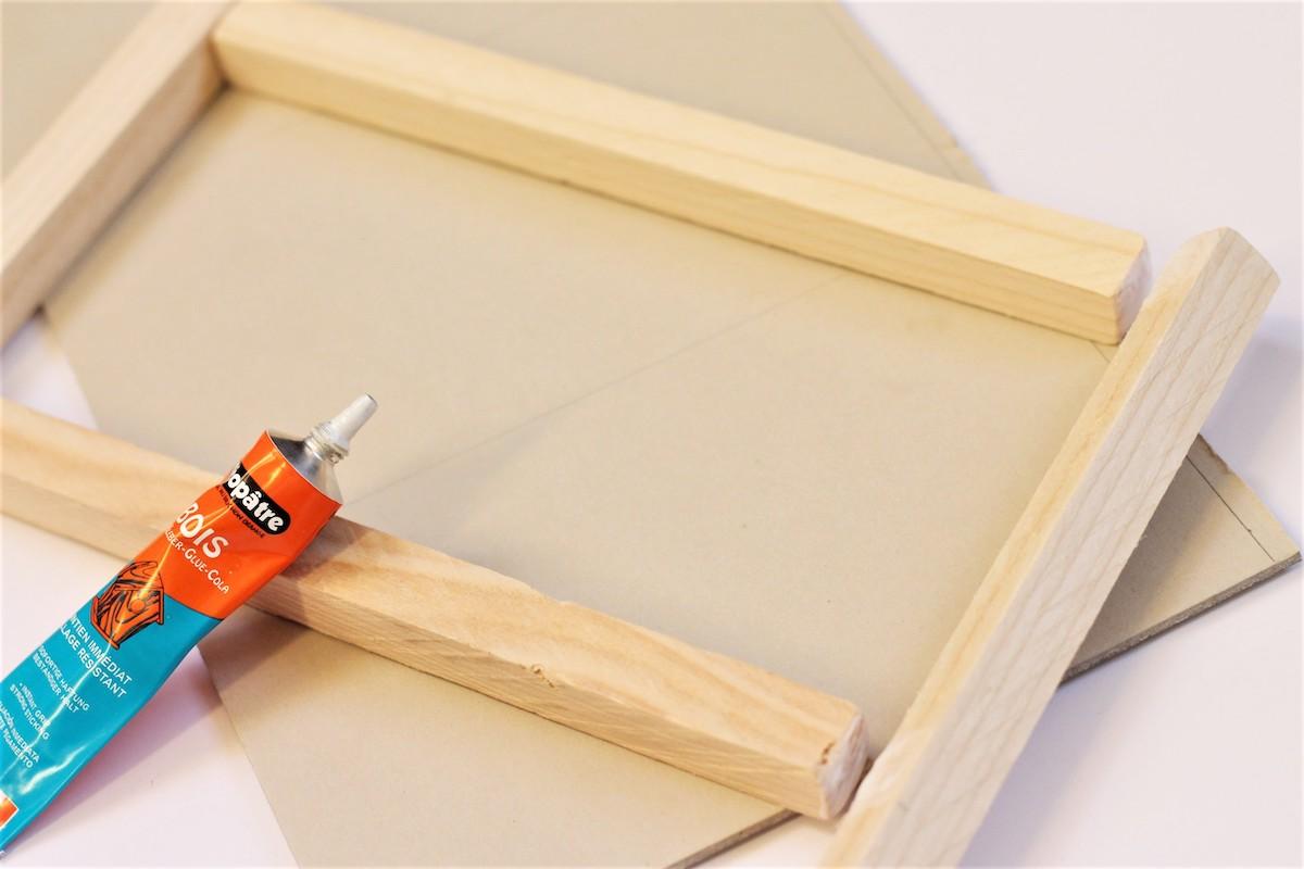 DIY colle à bois cléopâtre facile