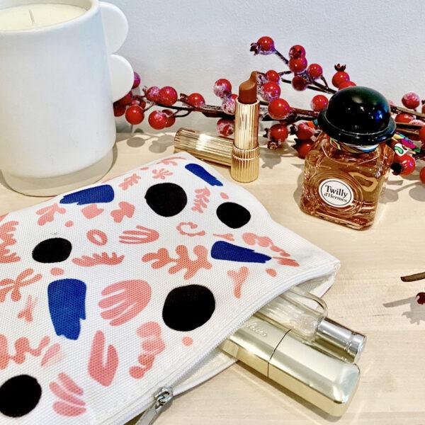Tutoriel Infusible Ink de Cricut personnaliser trousse maquillage