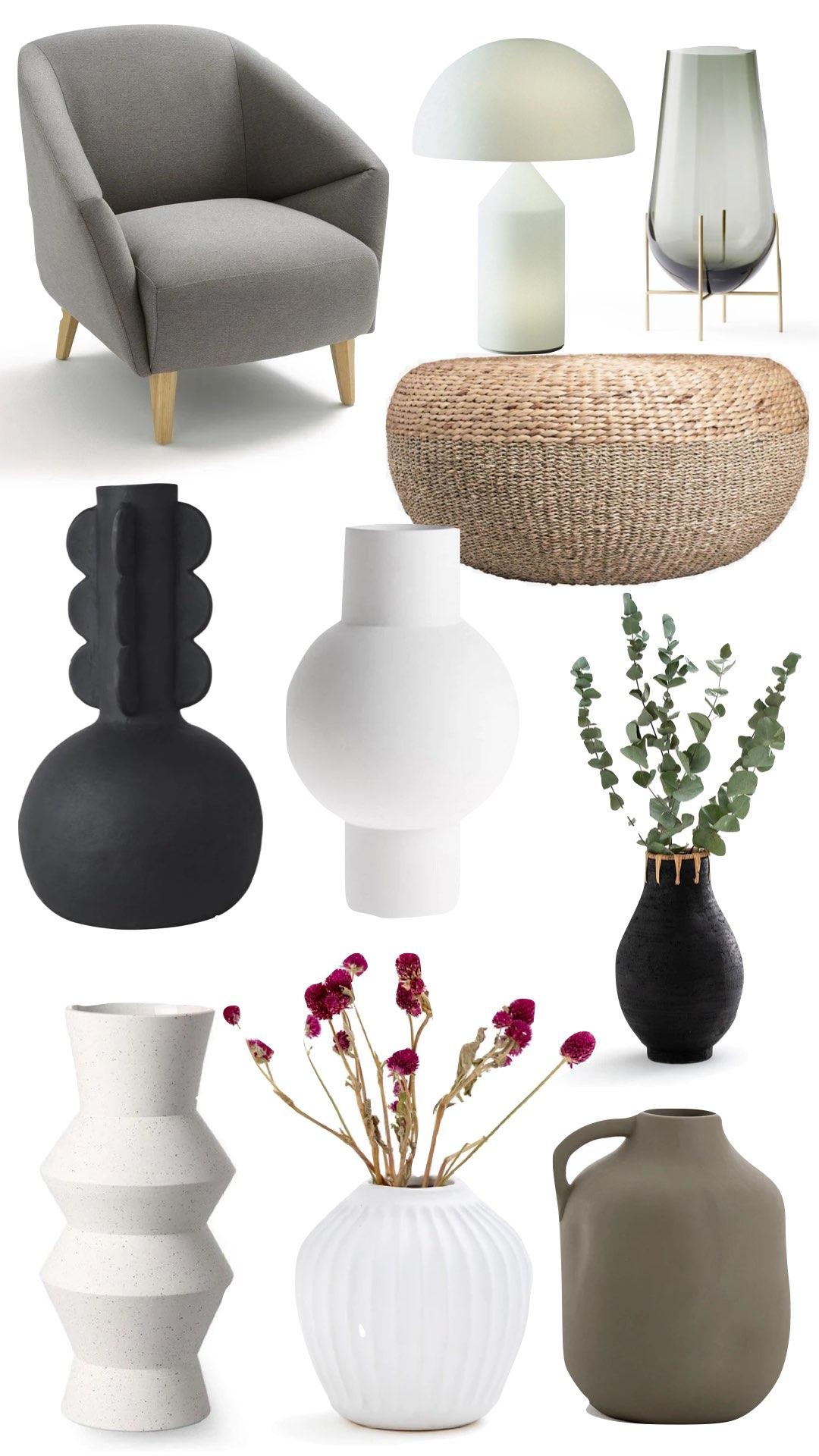 assortiment vase céramique artisanal blog déco clem around the corner