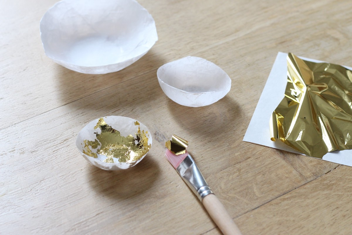 comment faire dorure feuille d'or colle avis