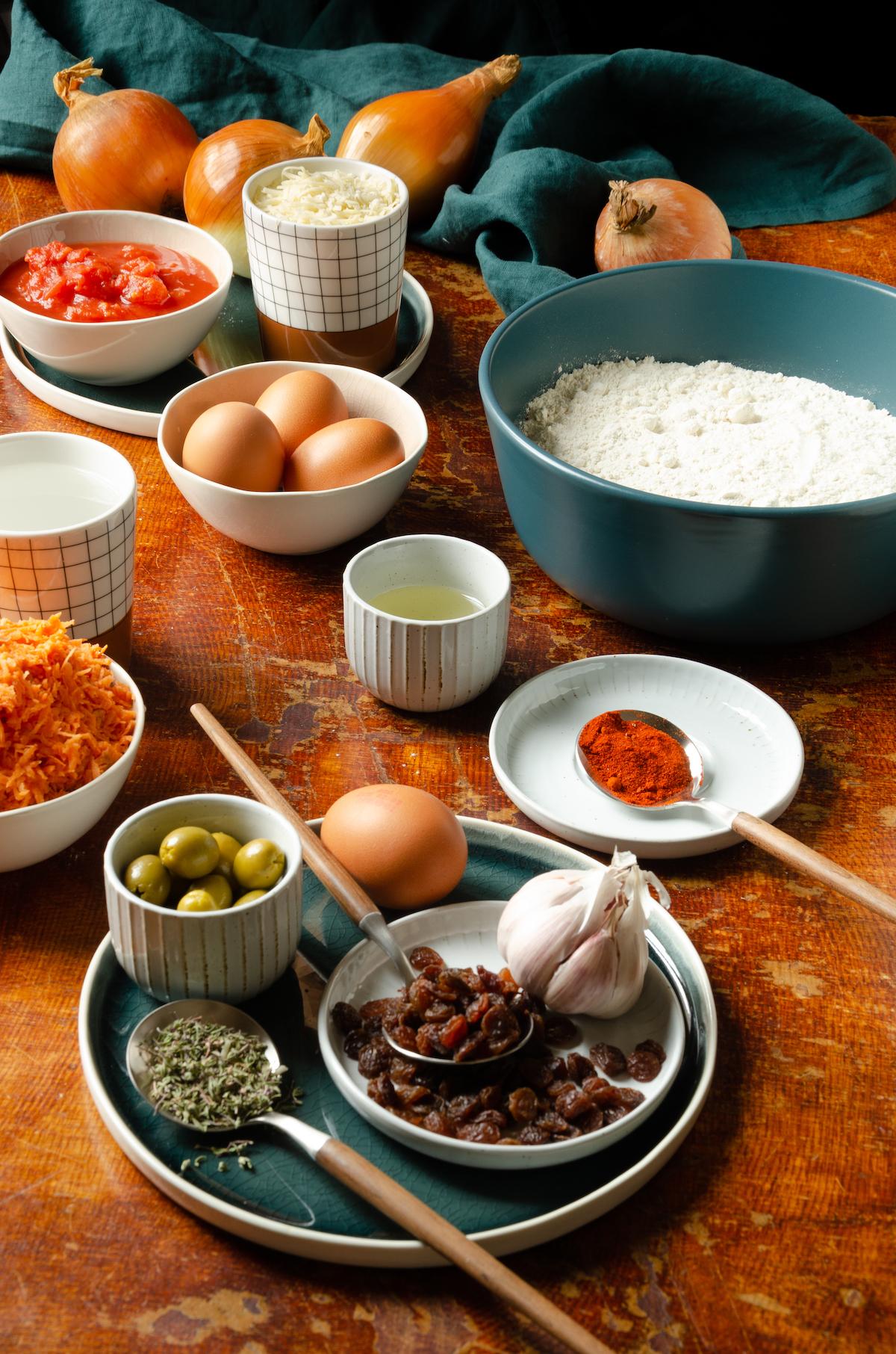idée recette tapas espagnole végétarienne argentine