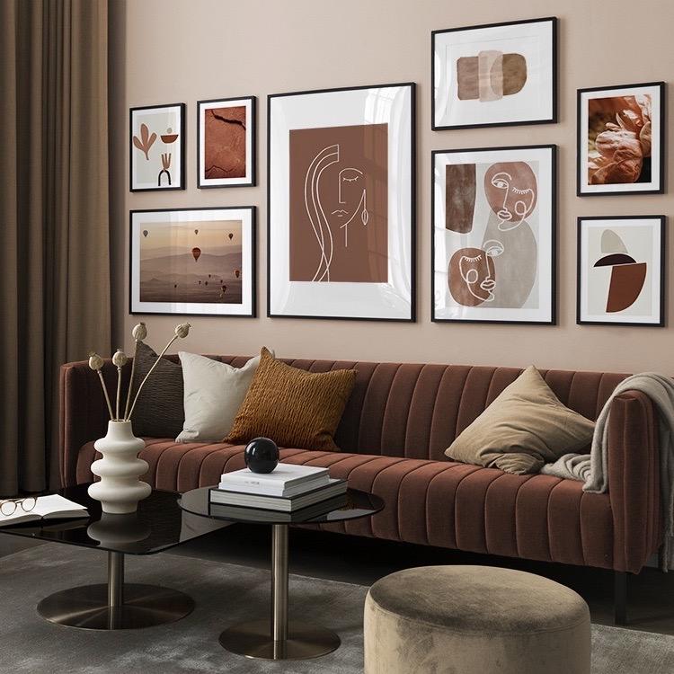 mur terracotta affiche poster blog décoration