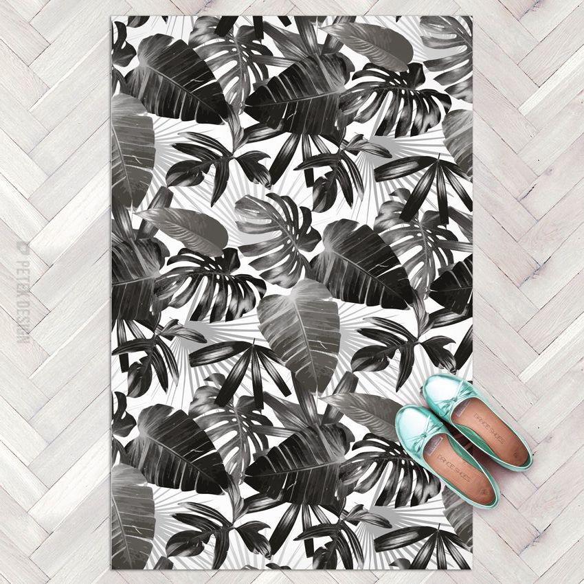 paillasson pour décoration urban jungle noir et blanc blog creation bricolage deco clemaroundthecorner